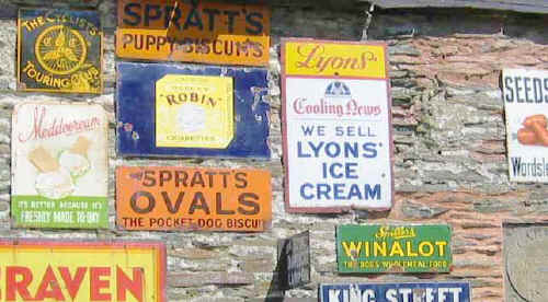 Photo of a collection of signs, including a CTC one, on a wall