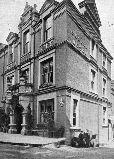 Photo of Castle Hotel, Llanfairfechan early 20th century