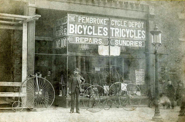 Photo of the Pembroke Cycle Depot