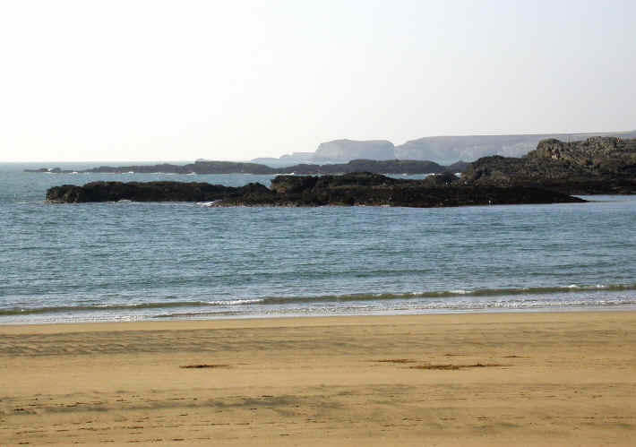 reefs at Trearddur Bay