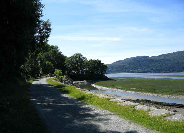 Views of the unspoilt Mawddach estuary and the Mawddach trail
