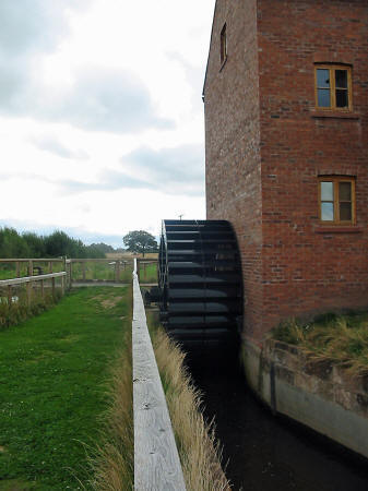 Photo of Walk Mill's water wheel